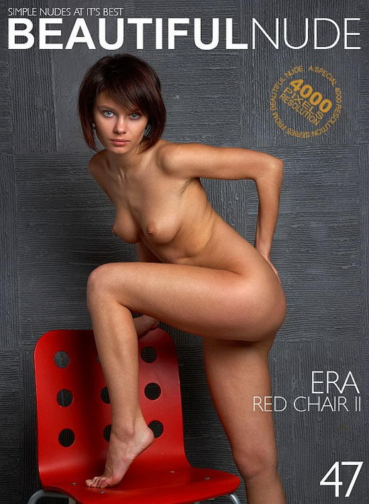 Era - `Red Chair II` - by Peter Janhans for BEAUTIFULNUDE