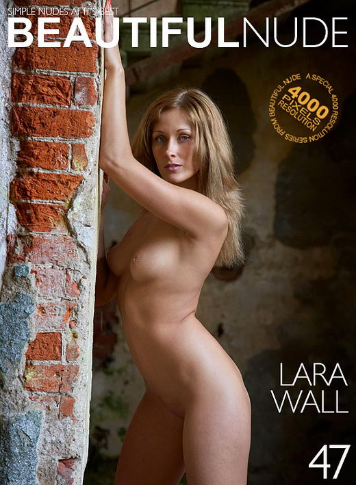 Lara - `Wall` - by Peter Janhans for BEAUTIFULNUDE