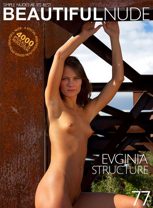 Evginia - `Structure` - by Peter Janhans for BEAUTIFULNUDE