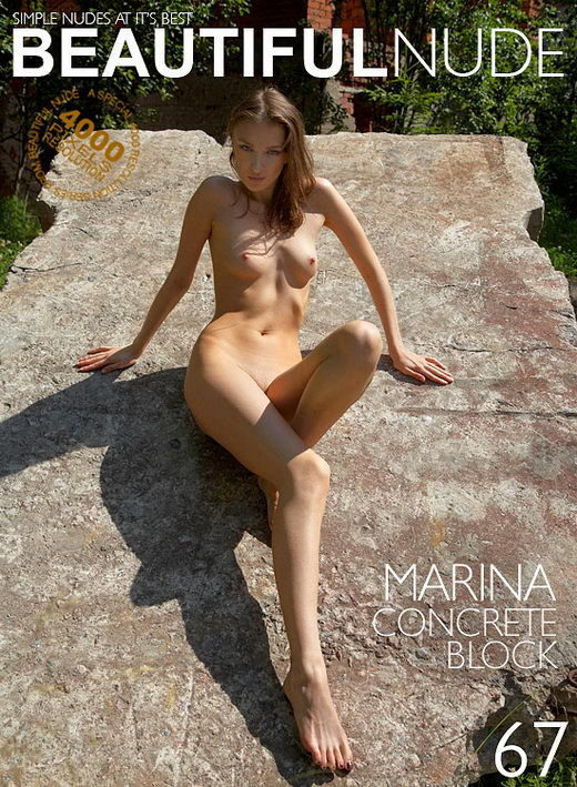 Marina - `Concrete Block` - by Peter Janhans for BEAUTIFULNUDE