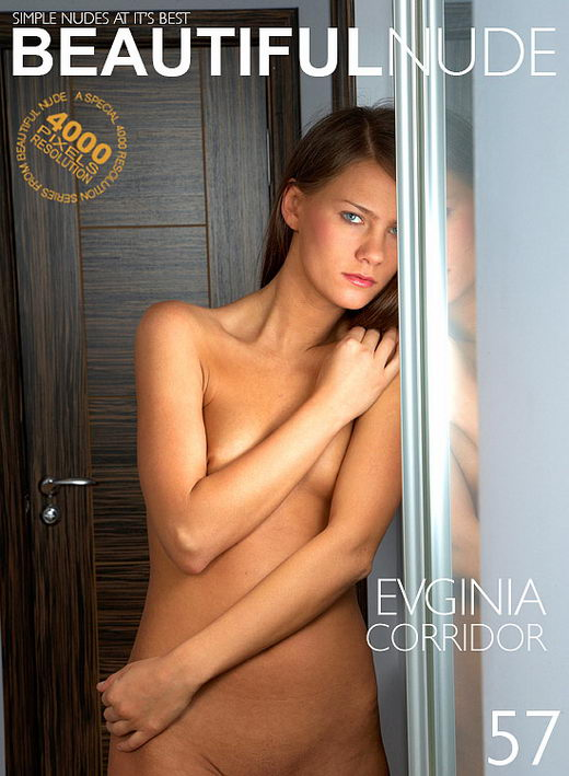 Evginia - `Corridor` - by Peter Janhans for BEAUTIFULNUDE