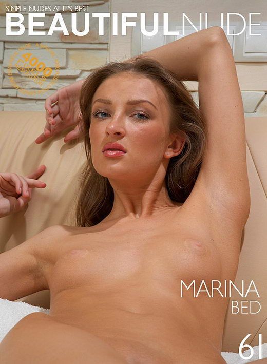 Marina - `Bed` - by Peter Janhans for BEAUTIFULNUDE