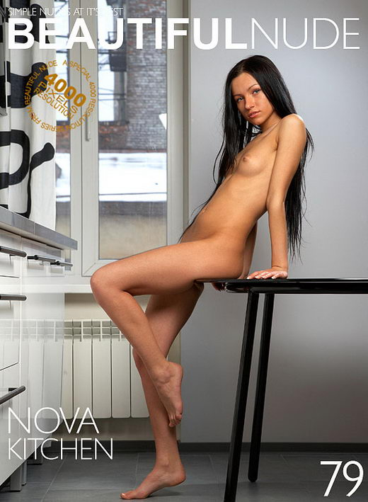 Nova - `Kitchen` - by Peter Janhans for BEAUTIFULNUDE