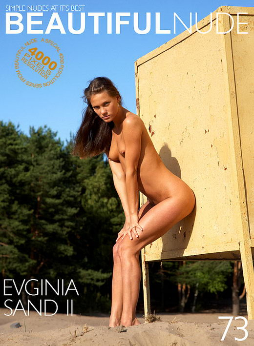 Evginia - `Sand II` - by Peter Janhans for BEAUTIFULNUDE