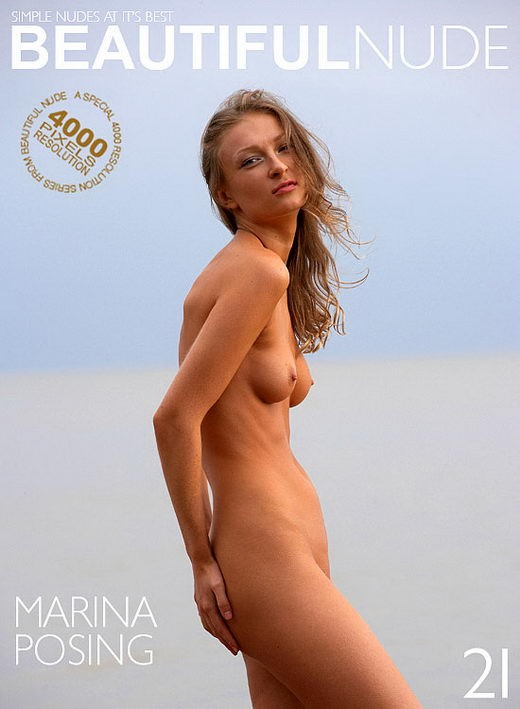 Marina - `Posing` - by Peter Janhans for BEAUTIFULNUDE