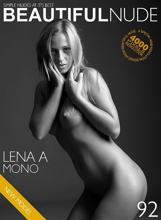 Lena A - `Mono` - by Peter Janhans for BEAUTIFULNUDE