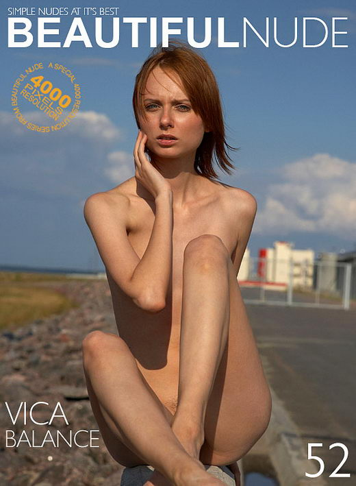 Vica - `Balance` - by Peter Janhans for BEAUTIFULNUDE