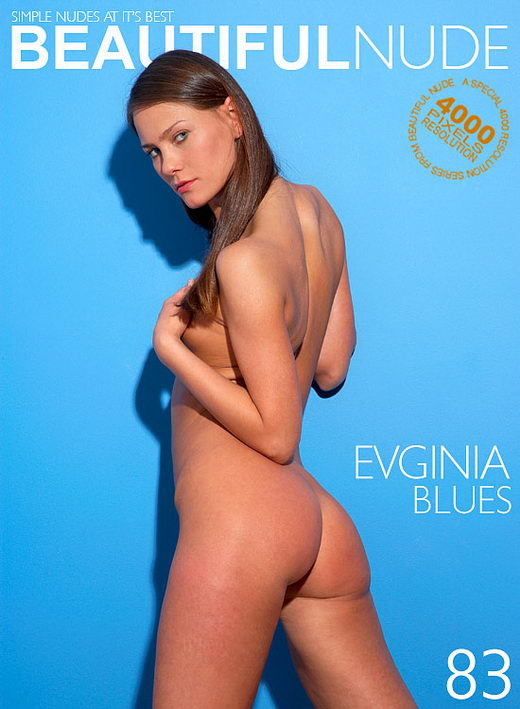 Evginia - `Blues` - by Peter Janhans for BEAUTIFULNUDE