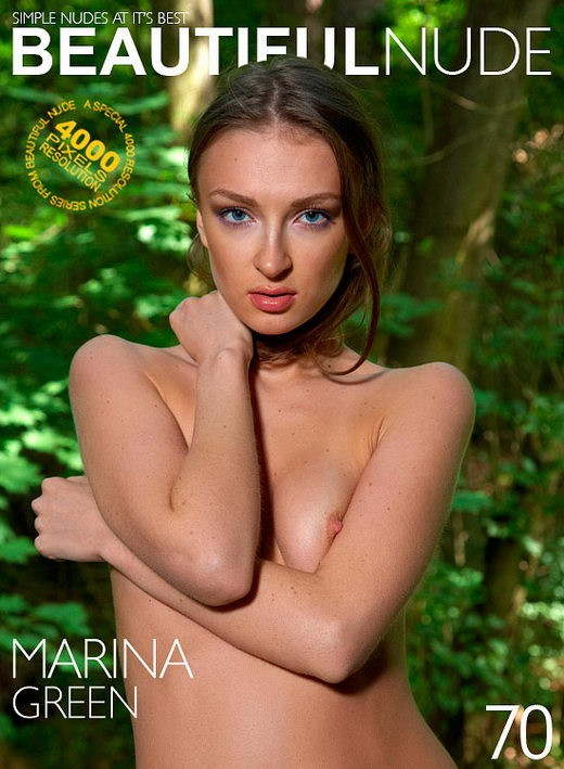 Marina - `Green` - by Peter Janhans for BEAUTIFULNUDE