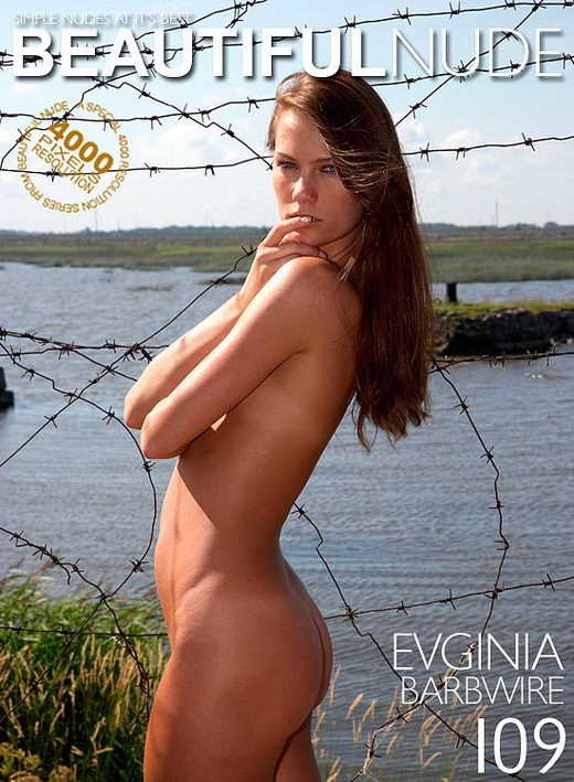 Evginia - `Barbwire` - by Peter Janhans for BEAUTIFULNUDE