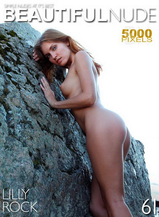 Lilly - `Rock` - by Peter Janhans for BEAUTIFULNUDE