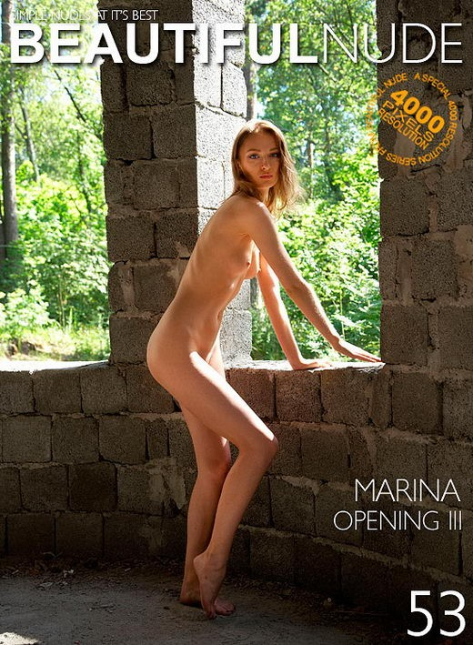 Marina - `Opening III` - by Peter Janhans for BEAUTIFULNUDE