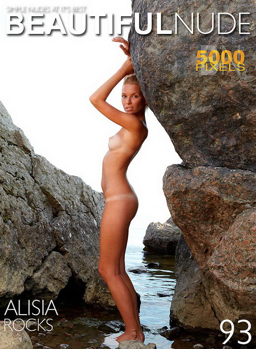 Alisia - `Rocks` - by Peter Janhans for BEAUTIFULNUDE