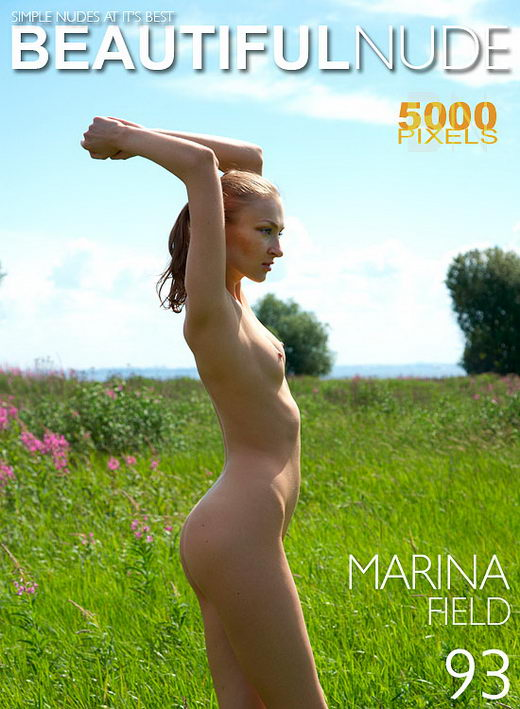 Marina - `Field` - by Peter Janhans for BEAUTIFULNUDE