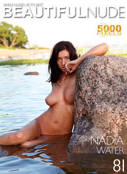 Nadia - `Water` - by Peter Janhans for BEAUTIFULNUDE