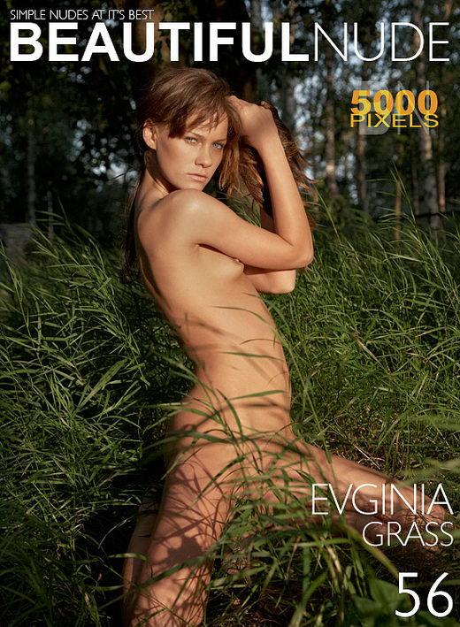 Evginia - `Grass` - by Peter Janhans for BEAUTIFULNUDE