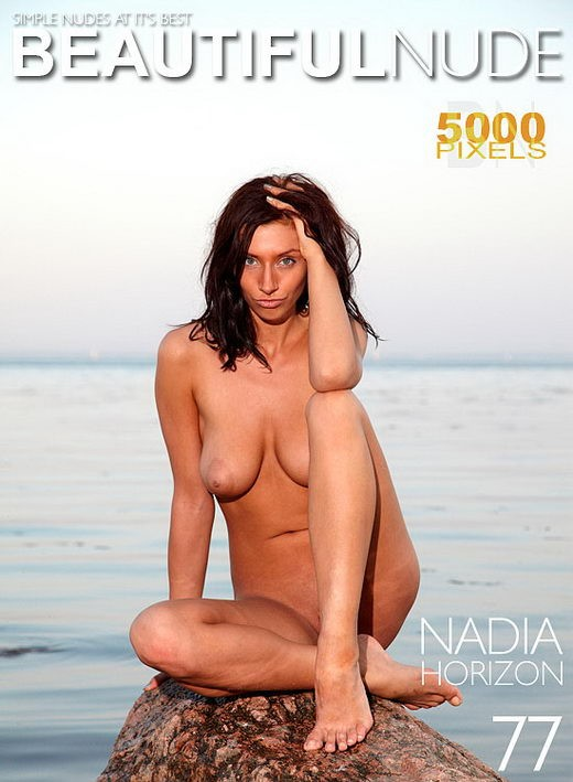 Nadia - `Horizon` - by Peter Janhans for BEAUTIFULNUDE