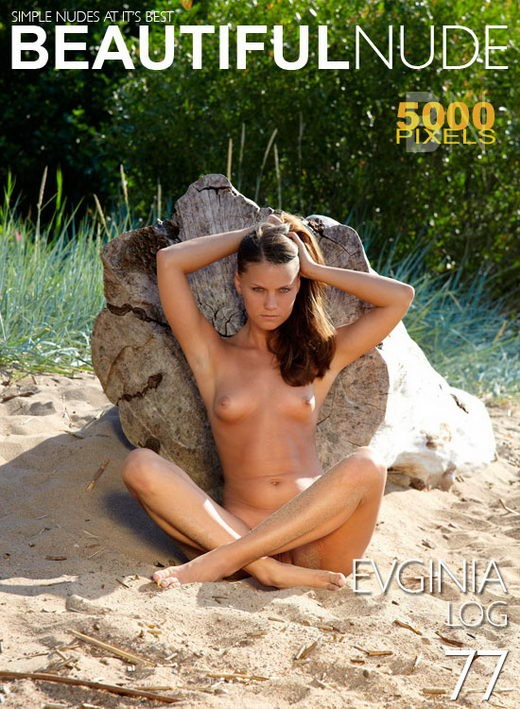 Evginia - `Log` - by Peter Janhans for BEAUTIFULNUDE