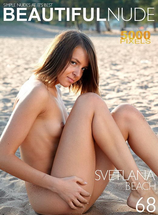 Svetlana - `Beach` - by Peter Janhans for BEAUTIFULNUDE