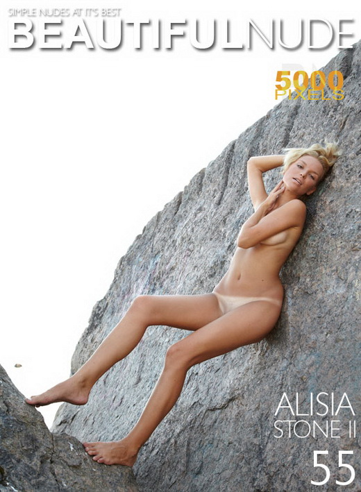 Alisia - `Stone II` - by Peter Janhans for BEAUTIFULNUDE