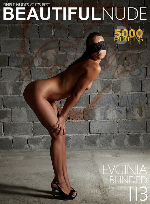 Evginia - `Blinded` - by Peter Janhans for BEAUTIFULNUDE