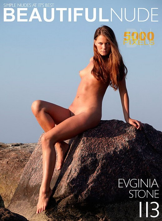 Evginia - `Stone` - by Peter Janhans for BEAUTIFULNUDE