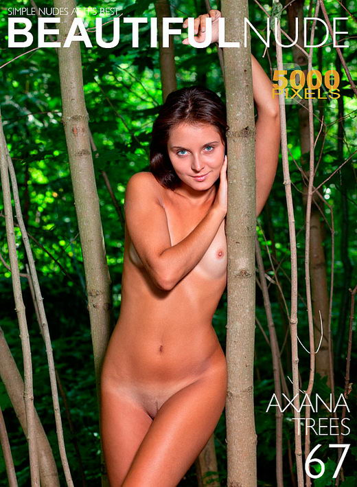 Axana - `Trees` - by Peter Janhans for BEAUTIFULNUDE