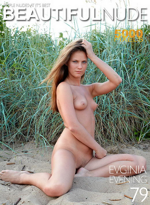 Evginia - `Evening` - by Peter Janhans for BEAUTIFULNUDE