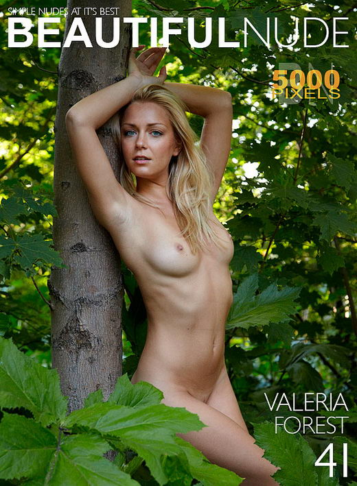 Valeria - `Forest` - by Peter Janhans for BEAUTIFULNUDE