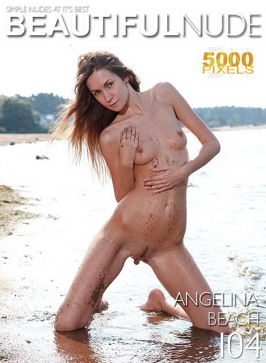 Angelina - `Beach` - by Peter Janhans for BEAUTIFULNUDE