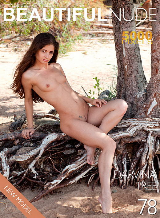 Darvina - `Issue 701 Tree` - by Peter Janhans for BEAUTIFULNUDE