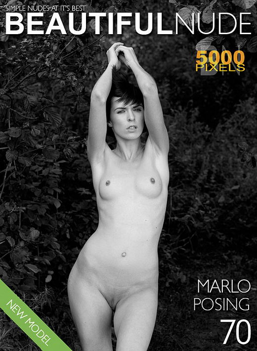 Marlo - `Issue 716 Posing` - by Peter Janhans for BEAUTIFULNUDE