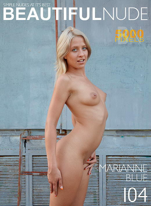 Marianne - `Issue 720 Blue` - by Peter Janhans for BEAUTIFULNUDE