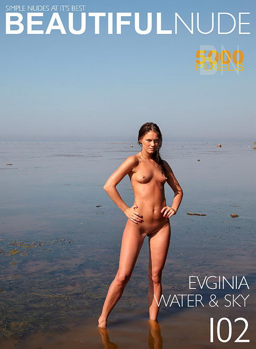 Evginia - `Issue 721 Water & Sky` - by Peter Janhans for BEAUTIFULNUDE