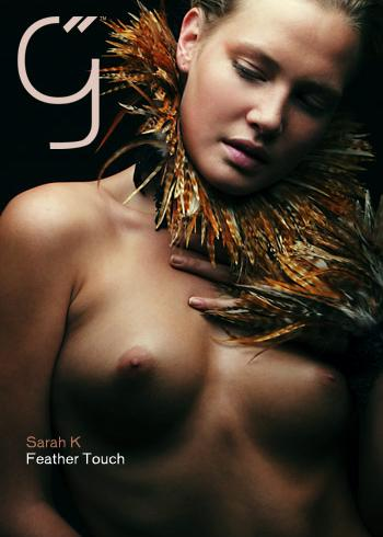 Sarah K - `Feather Touch` - by Brigham Field for BEAUTYISDIVINE