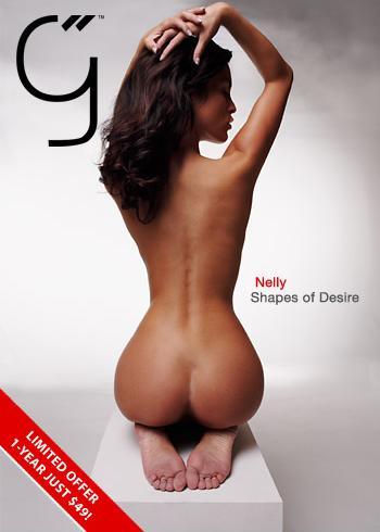 Nella - `Shapes of Desire` - by Brigham Field for BEAUTYISDIVINE