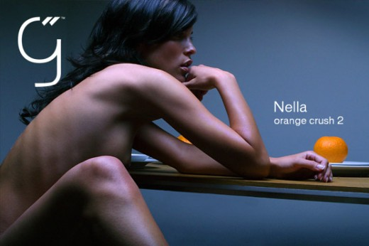 Nella - `Orange Crush 2` - by Brigham Field for BEAUTYISDIVINE