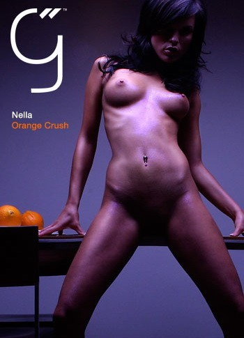 Nella - `Orange Crush` - by Brigham Field for BEAUTYISDIVINE