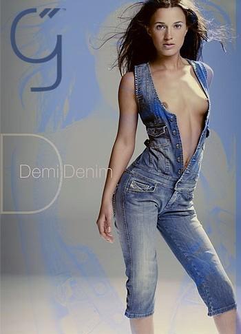 Demi - `Denim` - by Brigham Field for BEAUTYISDIVINE