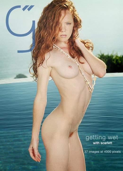 Scarlett - `Getting Wet` - by Brigham Field for BEAUTYISDIVINE