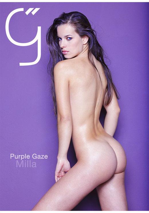 Milla - `Purple Gaze` - by Brigham Field for BEAUTYISDIVINE