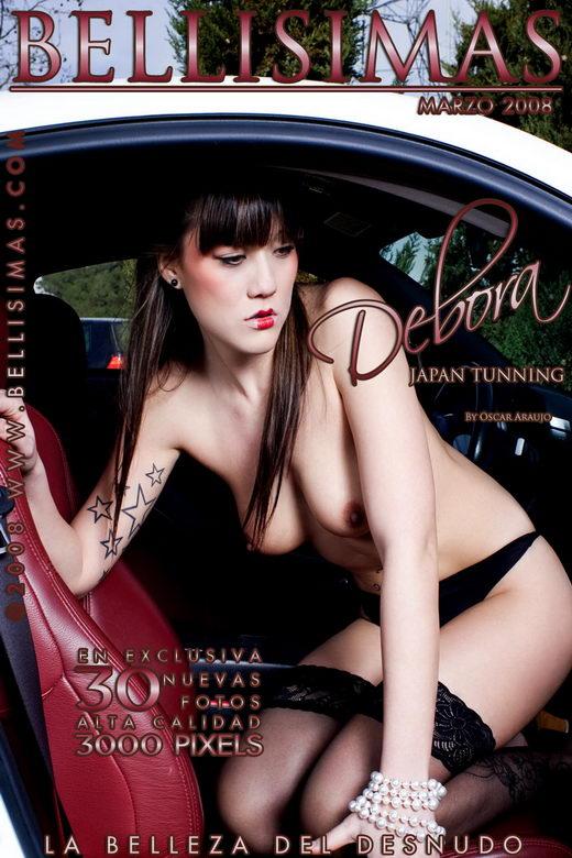 Deborah Arenas - `Japan Tuning` - by Oscar Araujo for BELLISIMAS