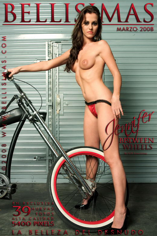Jennifer Aparicio - `Between Wheels` - by V.D. Fonteyne for BELLISIMAS