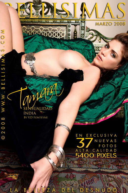 Tamara Aldama - `Sensualidad India` - by V.D. Fonteyne for BELLISIMAS