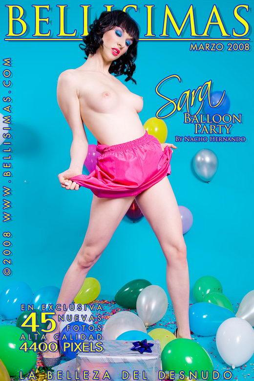 Sara - `Balloon Party` - by Nacho Hernando for BELLISIMAS
