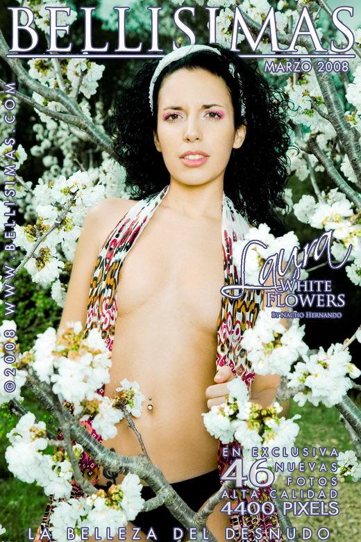 Laura Puertas - `White Flowers` - by Nacho Hernando for BELLISIMAS