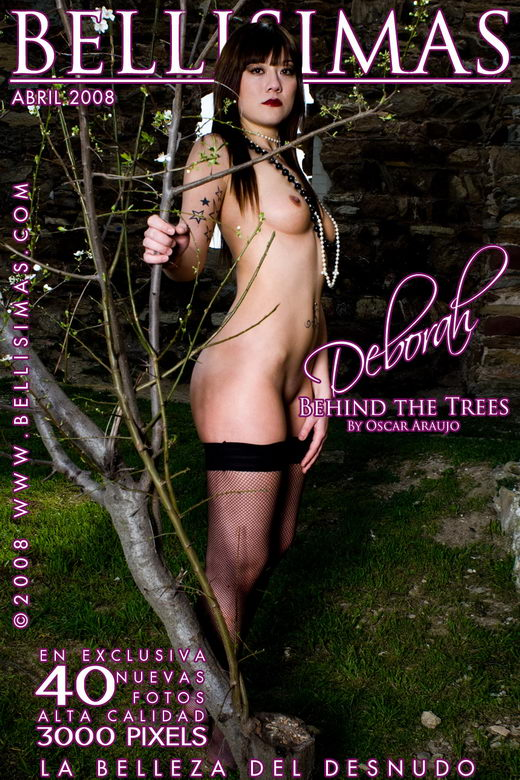Deborah Arenas - `Behind the trees` - by Oscar Araujo for BELLISIMAS
