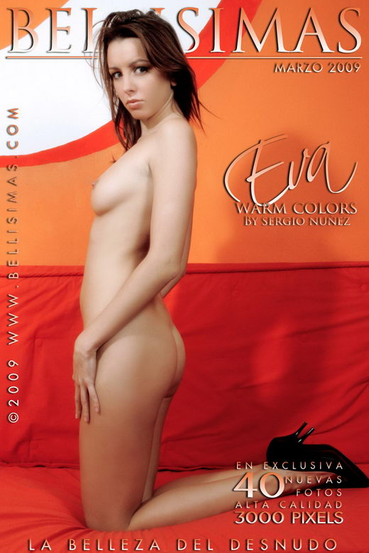 Eva - `Warm Colors` - by Sergio Nuñez for BELLISIMAS