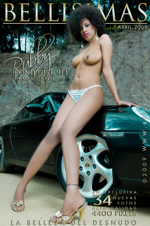 Rubby - `Bond Girl 911` - by Marcus Bell for BELLISIMAS