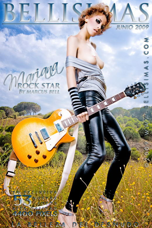 Mariana - `Rock Star` - by Marcus Bell for BELLISIMAS